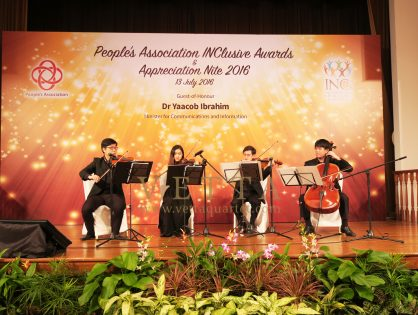 People's Association Inclusive Awards & Appreciation Nite at Orchid Country Club