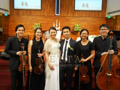 Yaosheng & Eelin's Wedding at Toa Payoh Methodist Church