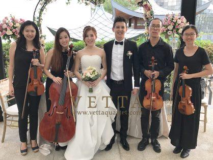 Cheryl and James' Wedding at Marriott Tang Plaza