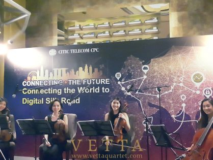 ESTA String Quartet for Corporate Event at Republic Plaza Tower Club