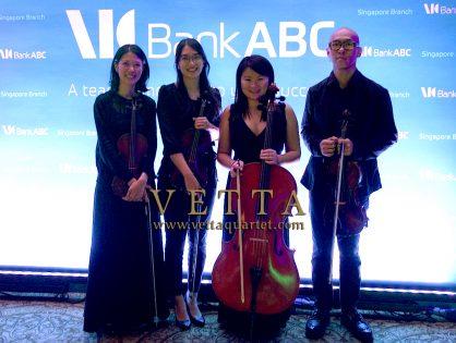 String Quartet for Corporate Celebration at Ritz Carlton
