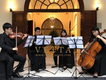 String Quartet for Private Celebration at Changi Cove, CommandHouse