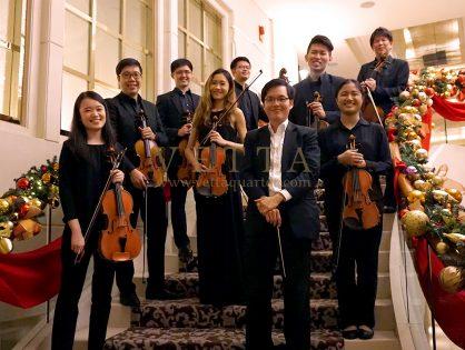 String Ensemble for Eric's Wedding at St Regis