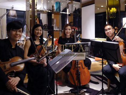 String Quartet for Private Event at JW Marriott Hotel