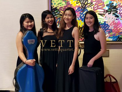 ESTA String Quartet for Michael & Hilary's Wedding at W Singapore