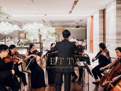String Ensemble for Roland & Rachel's Wedding at Grand Hyatt