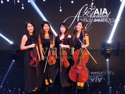 ESTA Quartet at AIA Annual Agency Awards at Marina Bay Sands