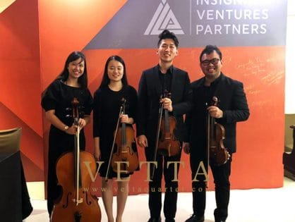 String Quartet for Corporate Event at John Jacob Ballroom, St Regis