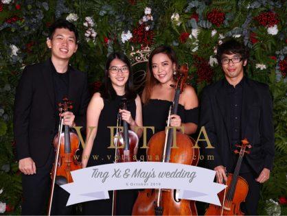 Ting Xi and May's Wedding at Capella, Grand Ballroom