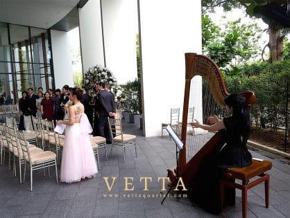 Chermain's Wedding at Capella Grand Ballroom Foyer and Grand Ballroom