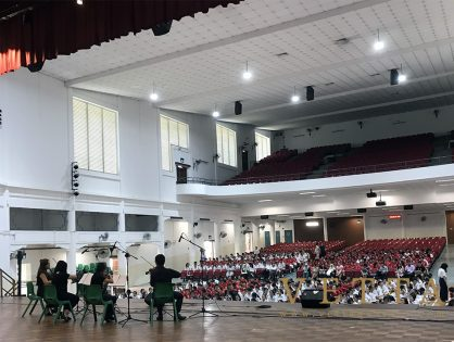 Educational Outreach at Chung Cheng High (Main)
