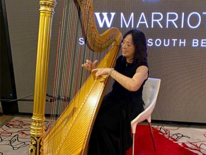 Angel's Wedding at JW Marriott Hotel