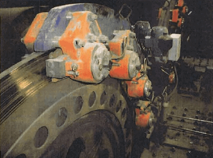 Emergency Hydraulic Caliper Disc Brakes for Main Hoist