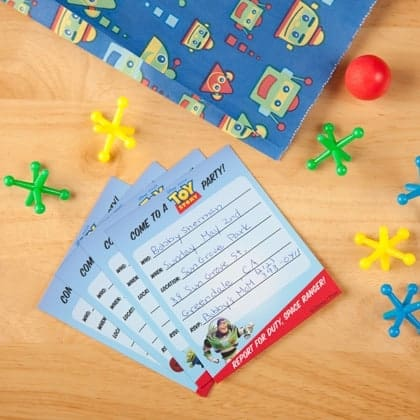 Toy Story Birthday Party Ideas - Free Printable Party Inviations