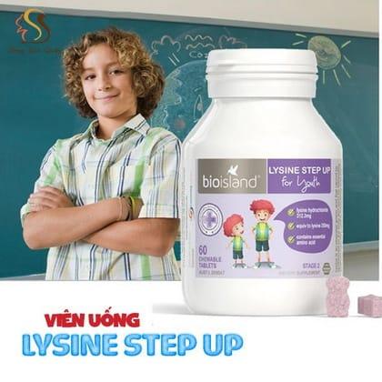 Viên uống tăng chiều cao Lysine StepUp cho trẻ từ 6 tuổi