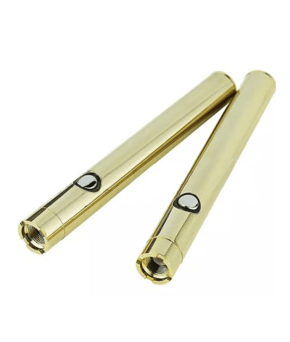 Dank Terpenes Slim Gold Vape Battery - 350 mah - 510 Thread