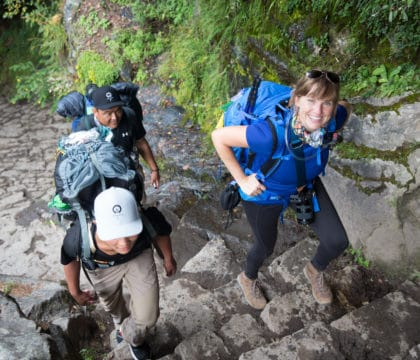 Learn four strategies to improve your hiking lung capacity so you can climb higher & farther without running out of breath. We'll also get you prepared for hiking at high altitudes and elevations where the air is thinner.
