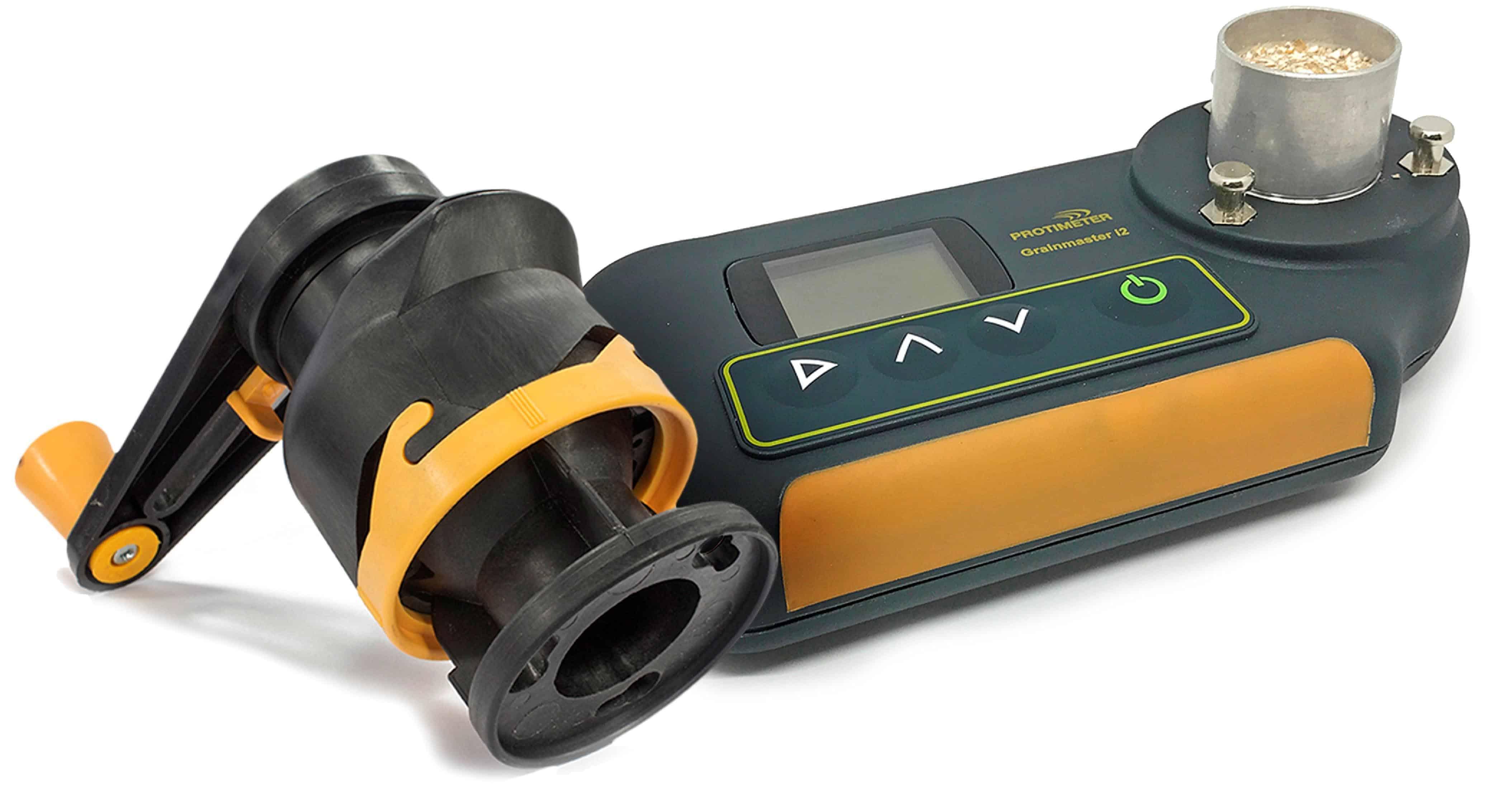 Protimeter grainmaster i2s crop moisture meter with grinder compressor unit
