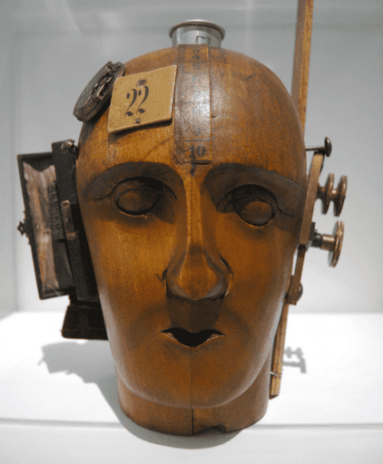 Raoul Hausmann, Mechanical Head (The Spirit of our Time), 1920
