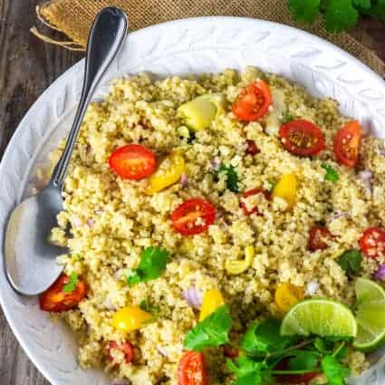 Quinoa Salad With Artichokes