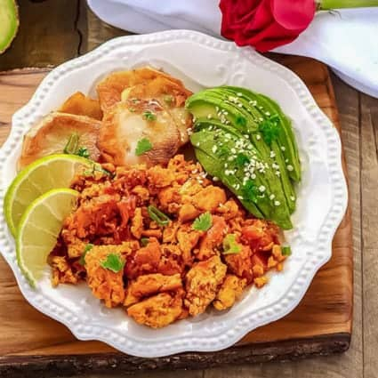 Scrambled Tofu Breakfast Recipe – Mexican Style