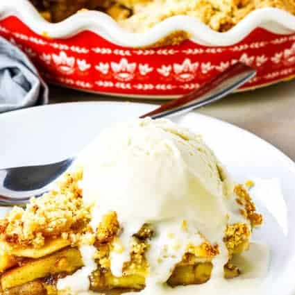 Apple Pie Crumb Topping (Vegan, Gluten-Free)
