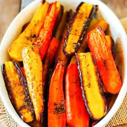 Maple Glazed Carrots