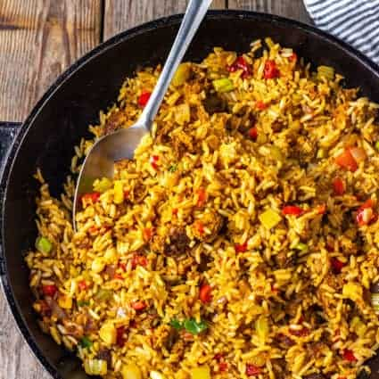 Vegan Dirty Rice