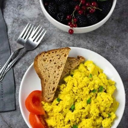 Easy Tofu Scramble Recipe