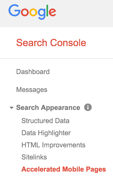 Search-Console-Accelerated-Mobile-Pages-http-gyitsakalakis.com-