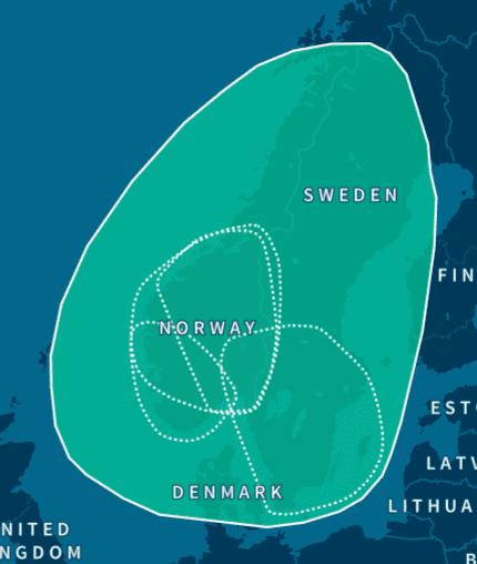 Where Scandinavian DNA is Typically Found