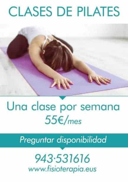 Clases Pilates en Donostia - San Sebastián