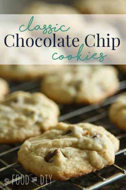 Classic Chocolate Chip Cookies. There is nothing extra special about these babies. They are special all by themselves. The classic recipe doesn't really need any improvement. They are just the right thickness, chewiness, and deliciousness.