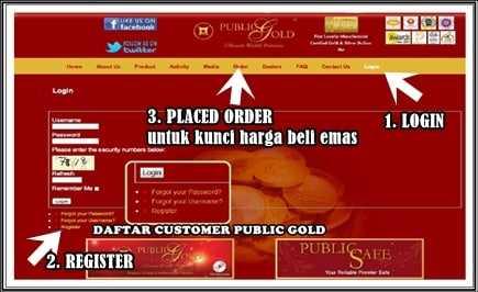 free-register-customer-pg EMAS UBAH KEHIDUPAN MENAMBAH PENDAPATAN