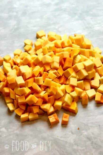 Roasted Butternut Squash is so CREAMY and BUTTERY and the PERFECT taste of FALL!   Autumn   Fall   Recipes   Side Dish