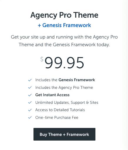 studiopress agency pro