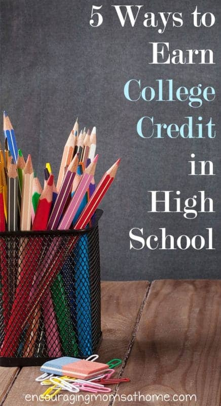 With the rising costs of college, are you looking for frugal ways to earn college credit in high school?  Here are 5 tips to get you started in the right direction including CLEP testing, dual enrollment, and more.