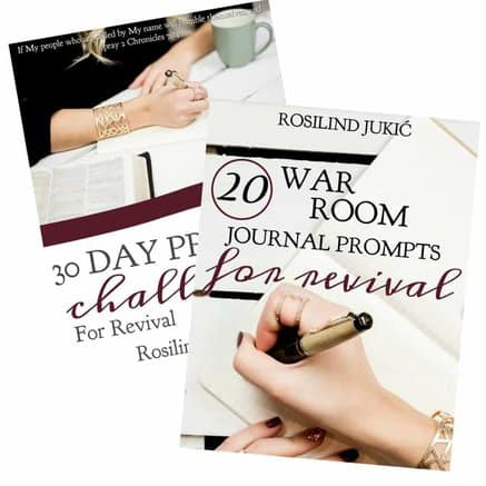 Click here to find out how you can download your copy of these prayer journals for revival today. A Little R & R | Rosilind Jukić | Christianity | Christian living | Christian blog | Christian faith | Bible Verse | Anxiety | Fear #fear #anxiety #prayer #warroom #warriorprincess #prayerjournaling #Scripture #Christian #Christianliving #spiritual #spiritualgrowth #Bible #God #jesus