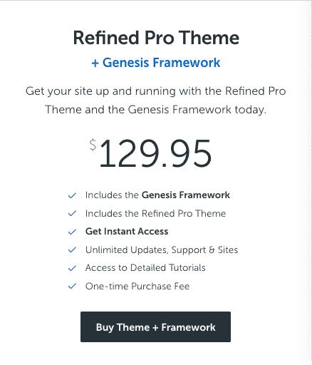 refined pro theme