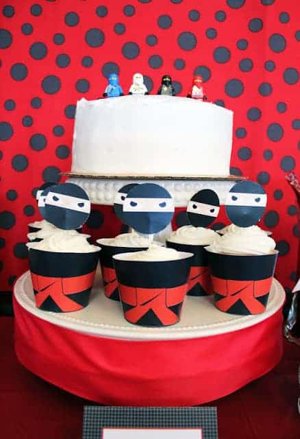 Find killer ideas for a Ninja Party or Lego Ninjago Party over on Serial Cheapskate's blog. Featured on Living Creative Thursdays LivingLocurto.com