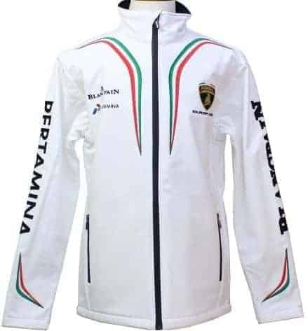 JACKET ladies Softshell Lamborghini Soft Shell WOMENS Coat Squadra Corsa