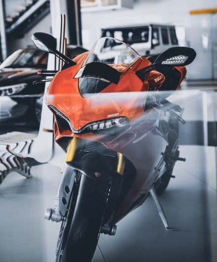 Used Bikes Showroom Background Image