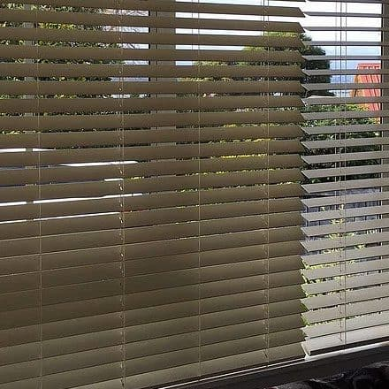 Venetian blinds in Hobsonville
