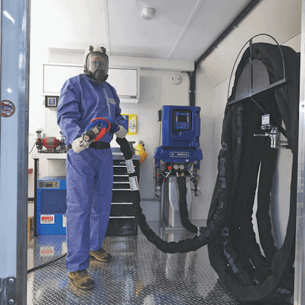 Graco Reactor 2 E30 - Spray Foam Machine Available at SprayEZ - Installed on Spray Rig