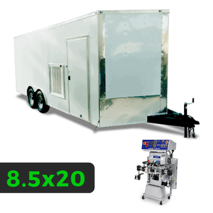 8_5x20 Spray Foam Rig Package with GRACO GH-2 Spray Machine - Insulated Rig Package - Spray Foam Insulation Trailers and Equipment