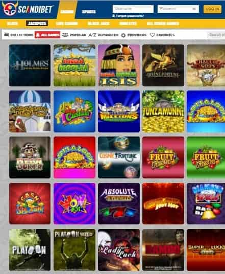 Scandibet Casino Review