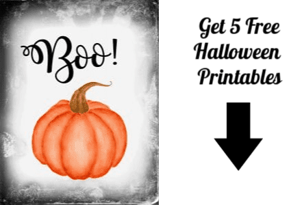 Halloween printables opt in form
