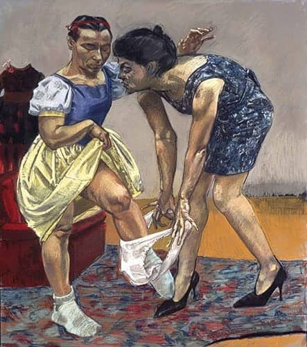 Paula Rego - Snow White and her Stepmother