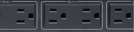 Power Sequencing Delay Outlets