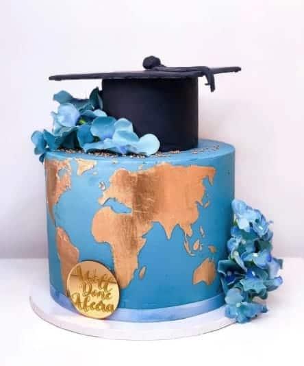 Travel the World Cake